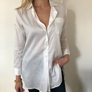 Chic collared white blouse